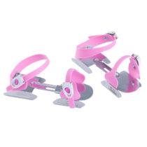 OXELO Korčule Na ľad Play 1 Ružové
