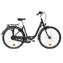 BTWIN Mestský Bicykel Elops 920 Sivý