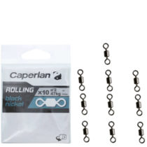 CAPERLAN Rolling Black Nickel 10 Ks