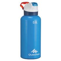 QUECHUA Hliníková Fľaša 900 0,6l Modrá