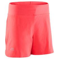 KALENJI šortky Run Dry Koralové Fluo