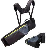 INESIS Mäkký Bag Ultralight čierny