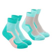 QUECHUA Detské Ponožky Crossocks Mid
