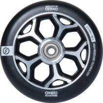 OXELO Koliesko 120 mm čierne