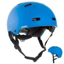 OXELO Prilba Mf500 Modrá