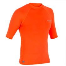 OLAIAN Pánsky Uv Top 100 Kr Oranžový