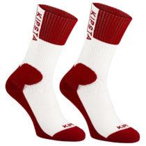 ALLSIX Pánske Ponožky V500 červené