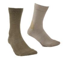 SOLOGNAC Ponožky S100 Béžové
