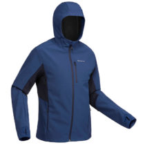 FORCLAZ Pánska Bunda Trek 500 Windwarm
