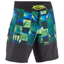 OLAIAN šortky 500 Tropicsquare Zelené