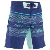 OLAIAN šortky Bs 500s Floralmix Modré