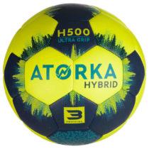 ATORKA Lopta H500 V3 žlto-modrá