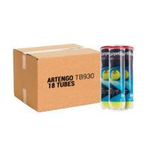 ARTENGO Tenisové Loptičky Tb930 4 X 18