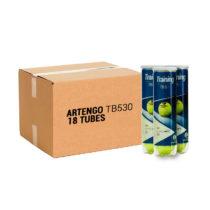 ARTENGO Tenisové Loptičky Tb530 4 X 18