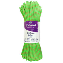 SIMOND Lano Rappel 8,1 mm 60 M Zelené
