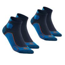 QUECHUA Ponožky Mh 500 členkové 2 Ks