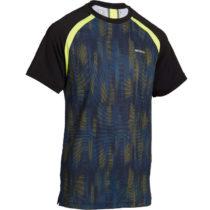 ARTENGO Detské tričko 500 čierno-žlté