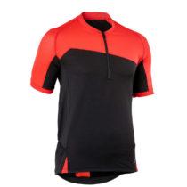 ROCKRIDER Dres Mtb St 500 červeno-čierny