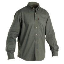 SOLOGNAC Poľovnícka Košeľa 500 Zelená