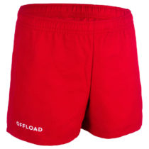 OFFLOAD šortky R100 Junior červené