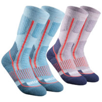 QUECHUA Ponožky Sh520 Modré
