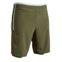 KIPSTA Futbalové šortky 3 V 1 F540
