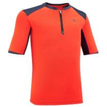 QUECHUA Tričko Mh550 Oranžové