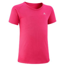 QUECHUA Detské Tričko Mh500 Ružové