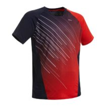 PERFLY Tričko 560 Tmavomodro-červené