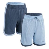 TARMAK Detské šortky Sh500r Modré
