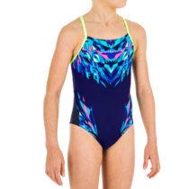 NABAIJI Dievčenské Plavky Lexa Modré