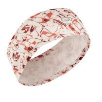 KALENJI Bežecká čelenka Mangovo-ružová