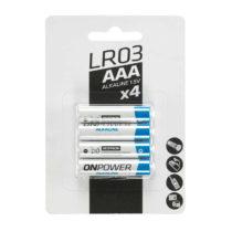 FORCLAZ Alkalické Batérie Lr03 Aaa 4ks