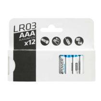 FORCLAZ Alkalické Batérie Lr03 – Aaa