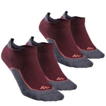 QUECHUA Ponožky Nh 500 Low 2 Páry