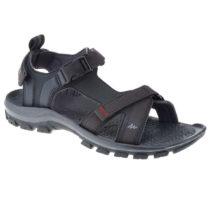 QUECHUA Sandále Nh110 čierne