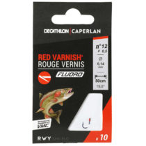 CAPERLAN Sn Hook Fluoro Red Varnish