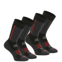 QUECHUA Vysoké Ponožky Sh520