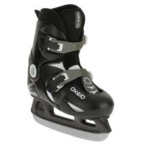 OXELO Korčule Na ľad Play 3 čierne