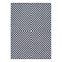 Modro-biely vonkajší koberec Universal Cannes Hypnotic, 200 x 140 cm
