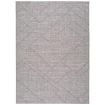 Sivý vonkajší koberec Universal Macao Grey Amelia, 133 x 190 cm